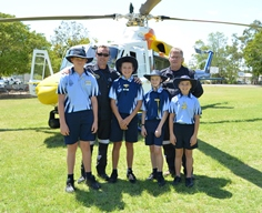 Capricorn Helicopter Rescue Service visit